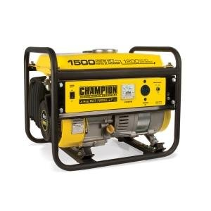 HGTCC K-Tool International (KTU42436) 1200/1500 Watt Portable Gas-Powered Generator - CARB Approved
