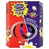Cadbury Creme Egg Giant Easter Egg 495g