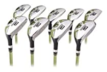 Forgan F3i Hybrid Iron Golf Club Set 3-SW Mens LEFTY Reg Flex Graphite