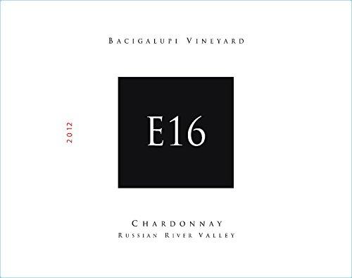 2012 E16 Russian River Valley Bacigalupi Vineyard Chardonnay 750 Ml