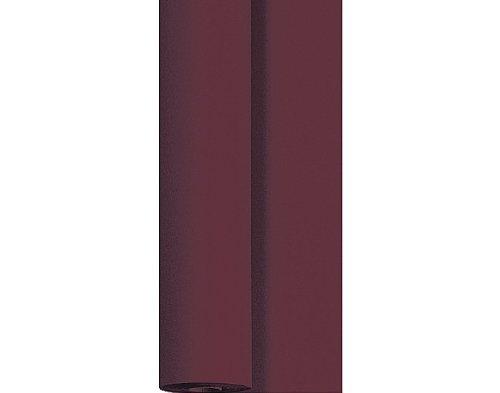 Duni Dunicel Tischdeckenrolle Plum 1,25 m x 10 m, Tischdecke pflaume, Papiertischdecke pflaume, Tischdecke Hochzeit, Tischdeckenrolle, Tischdekoration pflaume