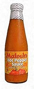 Matouk's Hot Pepper Sauce Salsa Picante 26oz