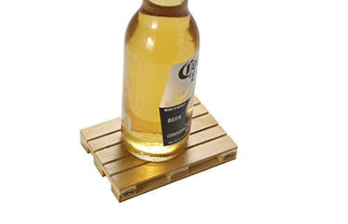 Why Should You Buy Miniature Craft Wood Pallet Coasters Set of 4 Unique Design for All Kinds of Beer...