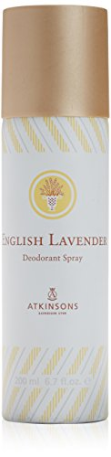 English lavander di Atkinsons, Deodorante Donna - Bomboletta 200 ml.