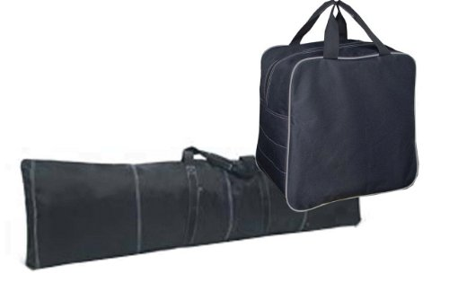Pulse Single Snowboard Bag & Boot Bag Combo Black