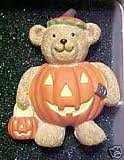 Avon Teddy Bear Pumpkin Pin