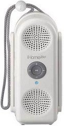 iHome iH20 Shower-to-Beach Portable Speaker System for iPod (White)