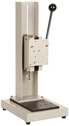 Shimpo FGS-100L Manual Lever Test Stand, 50mm Travel, 110lbs Capacity