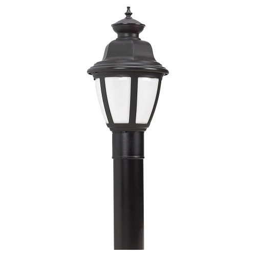 Sea Gull Lighting 82390Bl-12 Belmar Outdoor Post Lantern, Black