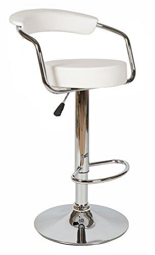 ts-ideen-6541-Tabouret-de-bar-blanc-blanche-chaise-fauteuil-assise-accoudoir-dossier-repose-pieds-lounge-club-cuisine-bistro-cave-drink-acier-chrom-faux-cuir