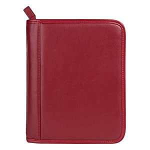 FranklinCovey Classic FranklinCovey Basics Leather Binder - Red