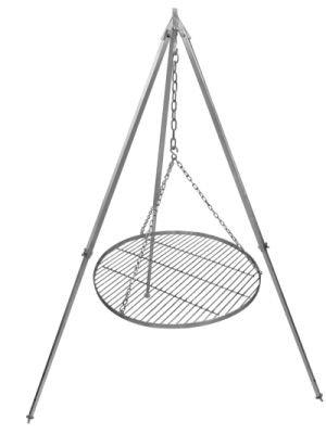 schwenkgrill grillrost edelstahl 80 cm durchmesser teleskopgestell 180 cm verzinkt b ware kaufen. Black Bedroom Furniture Sets. Home Design Ideas