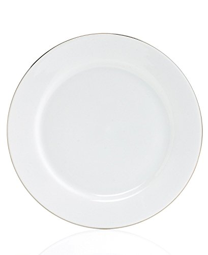 Charter Club Home Grand Buffet Fine Line Platinum Dinner Plates (Set of 4)