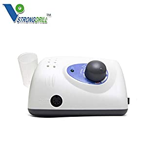 APHRODITE Strong Micromotor 210+102L Strong Manicure 35000 RPM Machine for Nail Drill