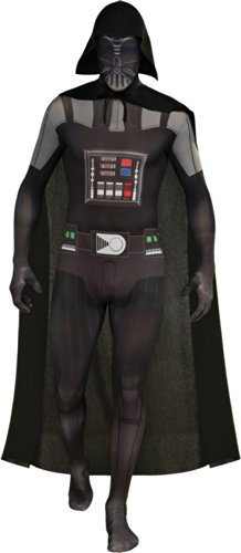Darth Vader Skin Suit Adult Costume Md Adult Mens Costume