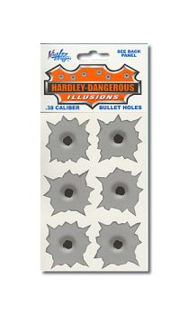 STANDARD BULLET HOLES STICKERS - Buy STANDARD BULLET HOLES STICKERS - Purchase STANDARD BULLET HOLES STICKERS (Gag Works, Toys & Games,Categories,Arts & Crafts,Stamps & Stickers)