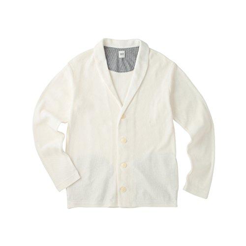 (タケオ キクチ)TAKEO KIKUCHI クールマックスリネンカーディガン ホワイト(002) 02(M)