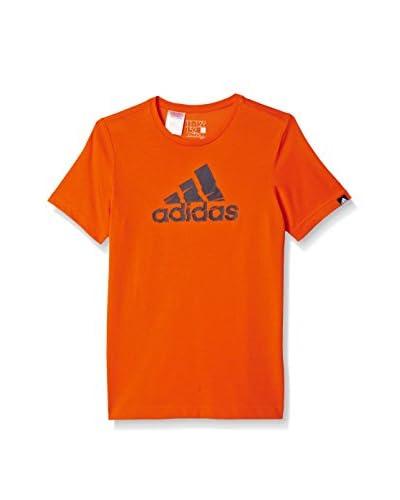 adidas T-Shirt Manica Corta Shred Logo [Arancione]