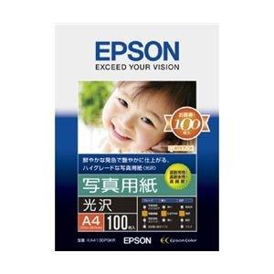 EPSON 写真用紙[光沢] A4 100枚 KA4100PSKR