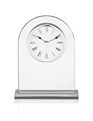 Arch Glass Mantel Clock