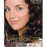 Impression Dark Brown Hair Colour (10G)With Shampoo Combo Of 5 Boxes