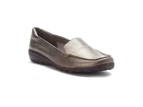 Easy Spirit Women's 'Abide' Loafer (7.5M, Pewter Leather)