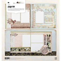 Cappella Page Kit 12x12: Makes Two 1-Page & One 2-Page Layouts