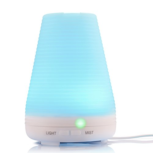 Citus 7 Color Ultrasonic Home Aroma Humidifier Air Diffuser Purifier Lonizer Atomizer