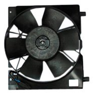 TYC 620540 Jeep Cherokee Replacement Radiator/Condenser Cooling Fan Assembly by TYC
