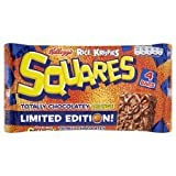 Kellogg's Rice Krispies Squares Chocolate Orange 4 X 34G