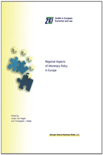 Regionale Aspekte der Geldpolitik in Europa (ZEI Studies in European Economics and Law)