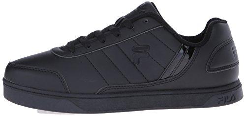Fila Men's New Sarasota Fashion Sneaker, Black/Black/Black, 10.5 M US