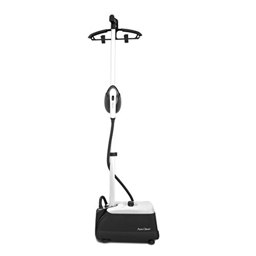 pure-clean-pstmh42-high-power-steam-cleaner-with-adjustable-height-shirt-hanger-attachment-45-easy-t