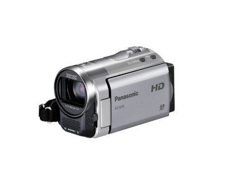 Panasonic HC-V10S HD 70x Optical Zoom SD Camcorder (Silver)