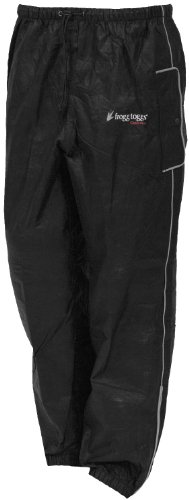 Frogg Toggs Road Toad Pant, Black, X-Large (Rain Pants Bike compare prices)