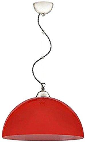 Lampex 343/Z2 cze Hängeleuchte Ebbe Z2, rot