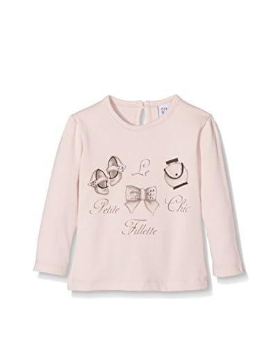 Fantasia Camiseta Manga Larga La Petite Fillette Chic Toddler Rosa Claro 18 Meses (86 cm)