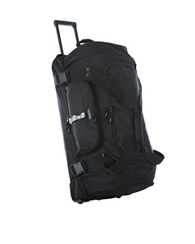 Olympia Luggage 30″ Rollling Duffle,Black