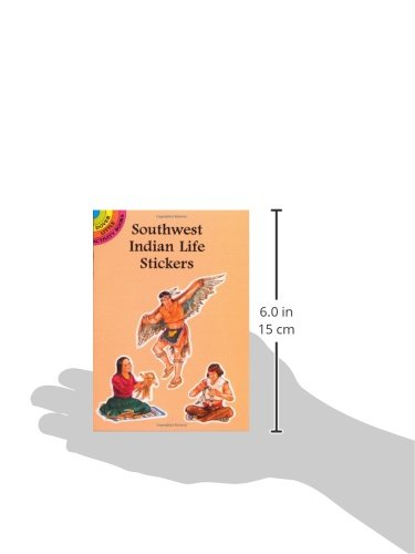 Southwest Indian Life Stickers (Dover Little Activity Books Stickers)
