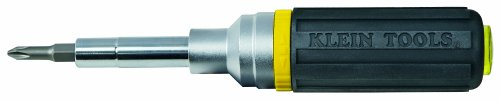 Klein 32558 Ratcheting Multi-Bit Screwdriver/Nut Driver