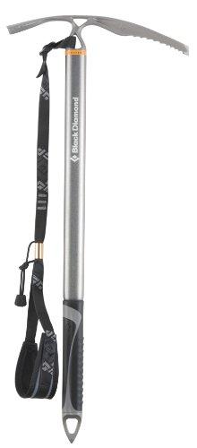 Black Diamond Raven Ice Axe with Grip, 60cm, Anodized Light Gray (Black Diamond Raven Ice Axe compare prices)