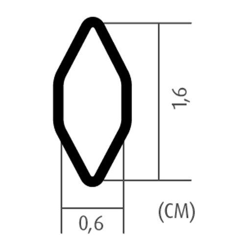 Kühlergrill Rautengitter Alu 100x25cm große Waben silber Renngitter Racegitter