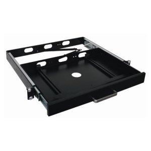 Adesso Mrp-1C Universal Rackmount Keyboard Drawer. 1U 19In Rm Keyboard Drawer Holds Up To 15.75X9.25X1.18 Size Rack-C. 1U - 1.8' X 13.8' X 17.3'