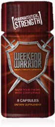 Weekend Warrior (8 Ct) Bottle-Natural Male Enhancement Pills for Amazing Sexual Enhancement
