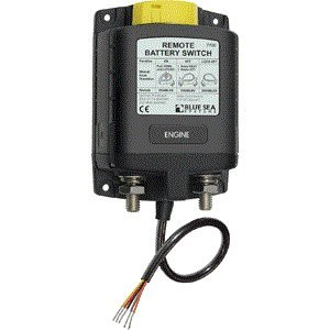 Blue Sea -  Systems 7700 Ml-Series Remote Battery Switch With Manual Control (12V Dc) - Blue Sea at Sears.com