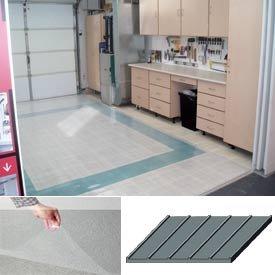 Polyvinyl Clear Floor Covering 7-1/2'X20' Rib Pattern
