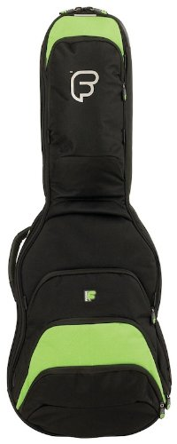 Fusion F1-04GEL Electric Guitar Bag - Black/Lime