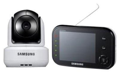Samsung SEW-3037W Wireless Video Baby Monitor with Infrared Night Vision and Zoom
