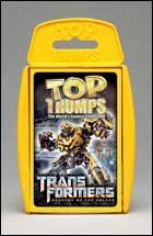 Top Trumps Transformers 2 Card Game