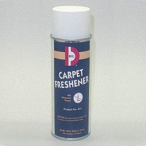 Big D 241 Carpet Freshener, 14 Oz Aerosol Can (Pack Of 12)